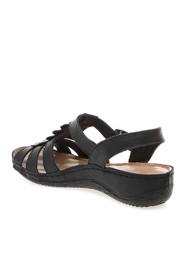 Greyder Sandalet Siyah
